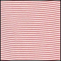 Mini Stripe Red