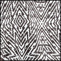 Mayan Tile Black