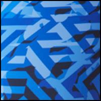 Maze Camo Blue