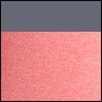 Melon Pink Ht/Med Gray