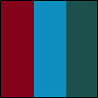 Ardesia Blue/Pine/Ruby