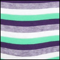 Purple/Green Stripe