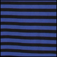 electric blue stripe