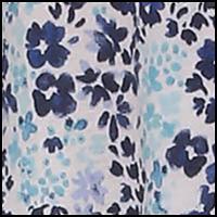 Medieval Blue Floral