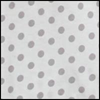 Silver Polka Dot