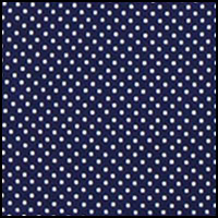 Navy/White Dots
