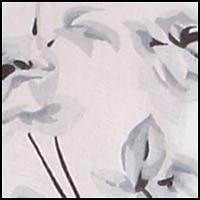 White Ground w/Rose