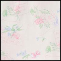 White Ground/Floral