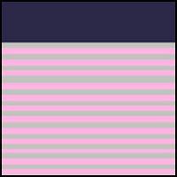 Pink/Grey/Velvet Trim