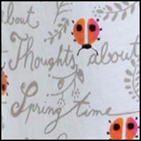 White Ladybird Script