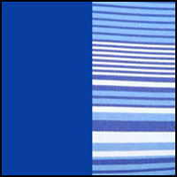 Blue Stripes/Blue
