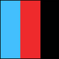 Sky Blue/Red/Black