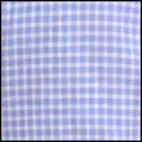 Periwinkle Mini Plaid