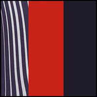 Stripe/BerryRed/Indigo