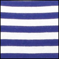 Cobalt/White Stripe