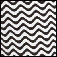 Black Chevron Stripe