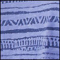 Blue Iris Stripes