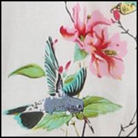 White/Hummingbird