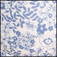 Ivory/Denim Floral
