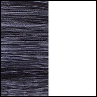 Black Space Dye/White