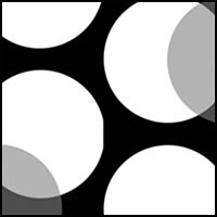 Mod Dot Black-White