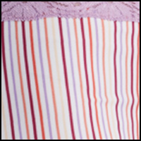 Candy Stripe w/Iris