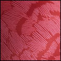 Red Snakeskin Print