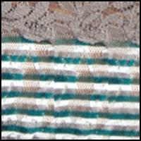 Tenacious Teal Stripe