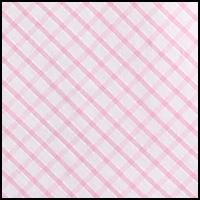 Pink White Tattersal