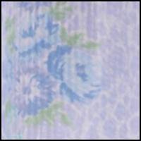 Large Blue Floral