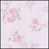 Pink/Gray Floral Spray