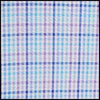 Turquoise/White Stripe
