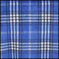 Hobson Plaid Cobalt