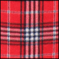 Hobson Plaid Red