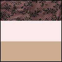 Pink/Almond/Leaves