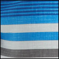 Bright Blue Stripe