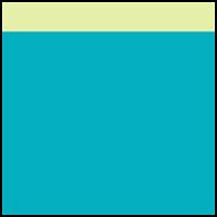 Azure Blue/Kiwi