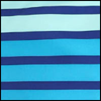 Vivid Blue Stripe
