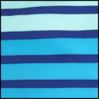 Vivid Blue Stripe