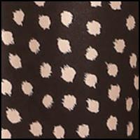 Black/Blush Dots
