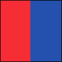 Red/Cobalt