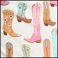 Ivory Boot Print