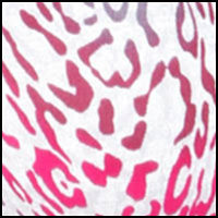 Berry Leopard Print