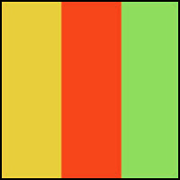 Yellow/Orange/Green