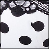 White/Black Dot
