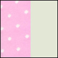 Pink White Dot/Green