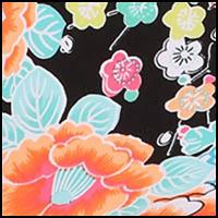Kimono Rose Black