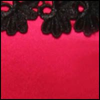 Cerise/Black