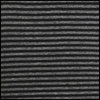 Black Melange Stripe