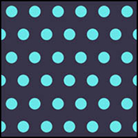 Navy Splash Polka